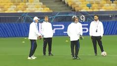 La apuesta de Ancelotti con su 'staff': ¿precisión con su puntería o suerte?