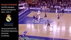 De Vukcevic a Vukcevic: así jugaba el padre de la nueva joya del Madrid