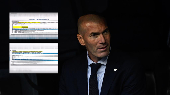 Fútbol: Filtran las normas internas de Real Madrid