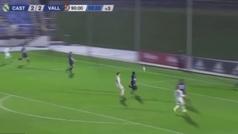 El gol de Cristo en el minuto 93 para salvar al Castilla