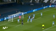 Gol de Marquinhos (1-0) en el PSG 1-2 Manchester City