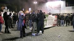 Batalla campal en Roma contra las restricciones del Gobierno