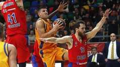 Euroliga. Resumen CSKA 107-85 Gran Canaria