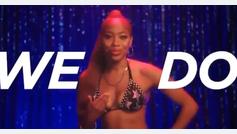 Un grupo de strippers recurren a un mensaje de nalgas para incentivar el voto
