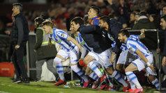 Copa del Rey (semis, vuelta): Resumen y gol del Mirandés 0-1 Real Sociedad