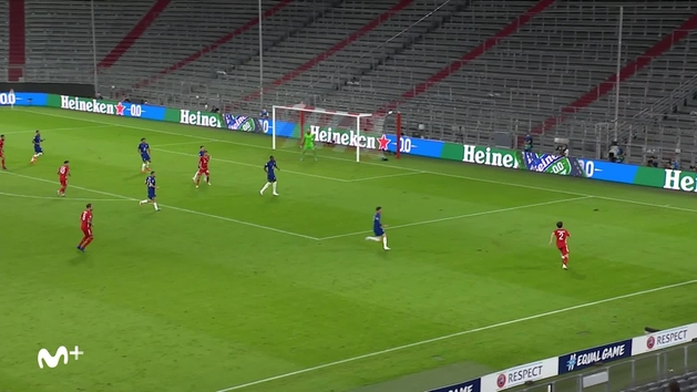 Gol de Lewandowski (4-1) en el Bayern 4-1 Chelsea