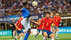 Europeo sub 21: Resumen y goles del Italia 3-1 España