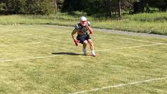 Tom Brady tiene un campo de fútbol americano en su rancho de Montana