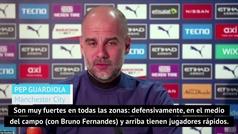 """Guardiola, con la guardia alta antes del derbi: """"Ellos son el Man-ches-ter U-ni-ted"""""""