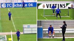 El Schalke 04 regresa a los entrenamientos... ¡manteniendo la distancia de seguridad!