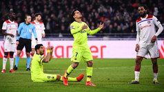 Champions League (octavos, ida): Resumen del Lyon 0-0 Barcelona