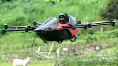 El coche deportivo volador más pequeño que te puedas imaginar