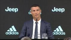 Las 10 respuestas clave de Cristiano en su presentación con la Juventus