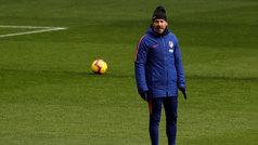 """Simeone: """"Tengo paciencia y energía, esto es largo, hay que esperar sentado y tranquilito"""""""
