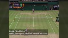 Los 5 puntos finales de los 5 Grand Slam de Sharapova: ¡pura emoción, alegría y rabia contenida!