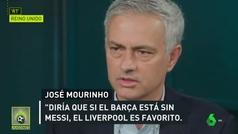 Mourinho, la jaula y la explicación de por qué no es fácil marcar al hombre a Messi