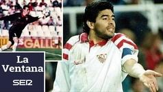 """Unzué desvela las noches en la habitación de Maradona en Sevilla: """"No repitáis mis errores"""""""