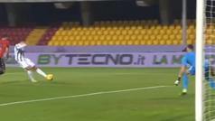 Morata no se cansa de marcar con la Juve... aunque terminó expulsado