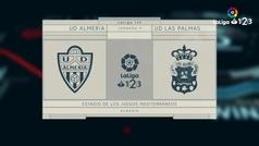 LaLiga 123 (J9): Resumen y goles del Almería 3-0 Las Palmas