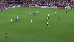 Gol de Messi (1-1) en el Valencia 1-1 Barcelona
