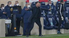 """Simeone: """"Me encanta que los jugadores se rebelen"""""""