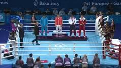 El presiente de Azerbaiyán pide al público que no se pite una medalla plata armenia