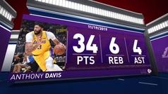 'La Ceja' recupera el showtime de los Lakers en otra noche histórica para LeBron