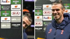 Bale es todo buen rollo con el Tottenham: ¡hasta vacila a los cámaras jugando al escondite!