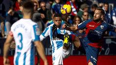 LaLiga (J19): Resumen y gol del Leganés 1-0 Huesca