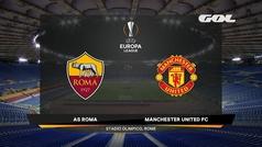 Uefa Europa League (vuelta semifinales): Resumen y goles del Roma 3-2 Manchester United