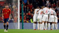 Nations League (J3): Resumen y goles del Inglaterra 2-3 España