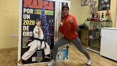 Una portada de altura para Sandra Sánchez