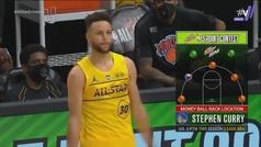 ¡Y Don Stephen Curry bajó de su nave! Así fueron sus rondas en el concurso de triples de la NBA