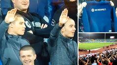 """Hinchas ingleses responden a los racistas búlgaros: """"¿Quién os marca gol? ¡El p*** Sterling!"""""""