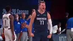 La NBA se rinde al talento de Doncic y su triplazo que dio la vuelta al mundo
