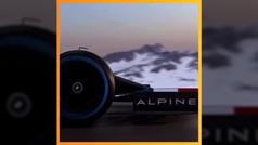 Alpine muestra fugazmente el coche de Alonso para 2021