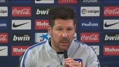 """Simeone, sobre el 'caso Costa': """"Es una situación interna"""""""