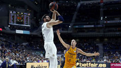 Liga ACB. Resumen: Real Madrid 87-63 Gran Canaria