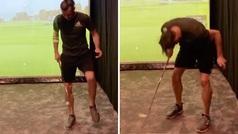 Bale da un recital de toques... ¡con una pelota de golf!