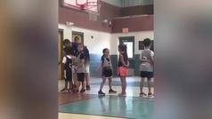 La intensa defensa de una niña en un partido de baloncesto se hace viral