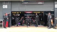 Así suena y se ve el nuevo coche de Alonso en Silverstone