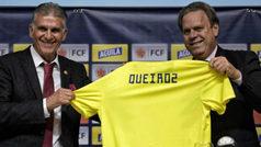 Queiroz, nuevo técnico de Colombia