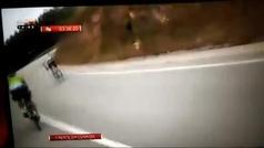 Y en Portugal... el coche de Murias atropella a un Eskadi