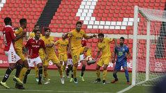 LaLiga 123 (J9): Resumen y goles del Nàstic 1-3 Alcorcón