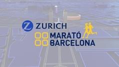 El recorrido de la Maratón de Barcelona 2019