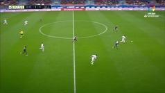 Gol de Guardiola (1-2) en el Eibar 1-2 Valladolid