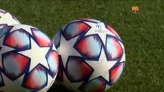 El Barça se prepara para su encuentro ante el Dinamo de Kiev
