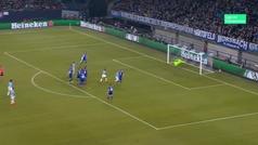 Gol de Sané (2-2) en el Schalke 2-3 Manchester City