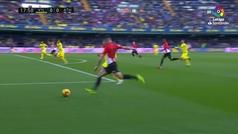Gol de Jaume Costa (p.p.) (0-1) en el Villarreal 1-1 Athletic