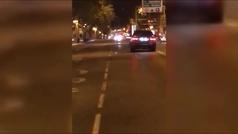 La Policía de Madrid busca al conductor que trató de atropellar a un viandante en la calle Princesa